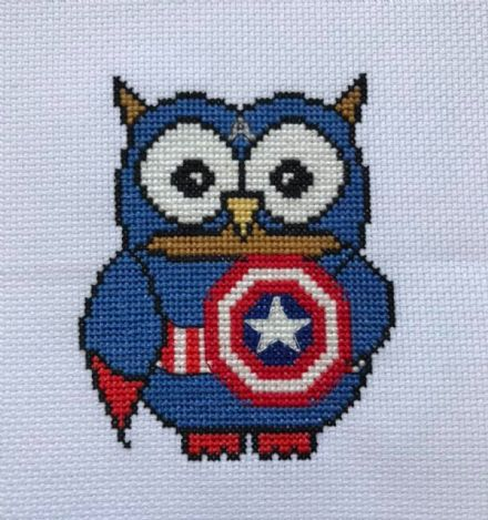 Captain Am-Ollie Owl